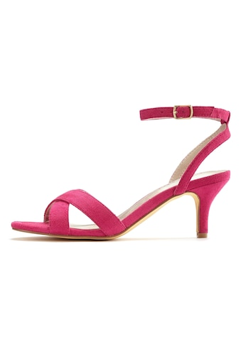 LASCANA Sandalette, mit bequemen Absatz und schicken Riemchen kaufen