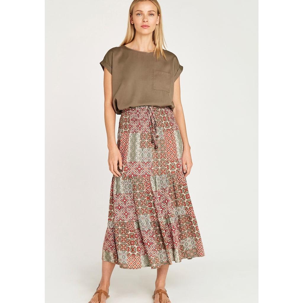Apricot Maxirock »Geo Tile Print in 2in1 Skirt«, auch als Kleid tragbar