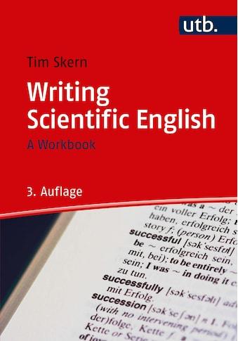 Buch »Writing Scientific English / Timothy Skern« kaufen