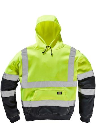 Dickies Kapuzensweatshirt »HighVis«, gestrickte Bündchen und Saum kaufen