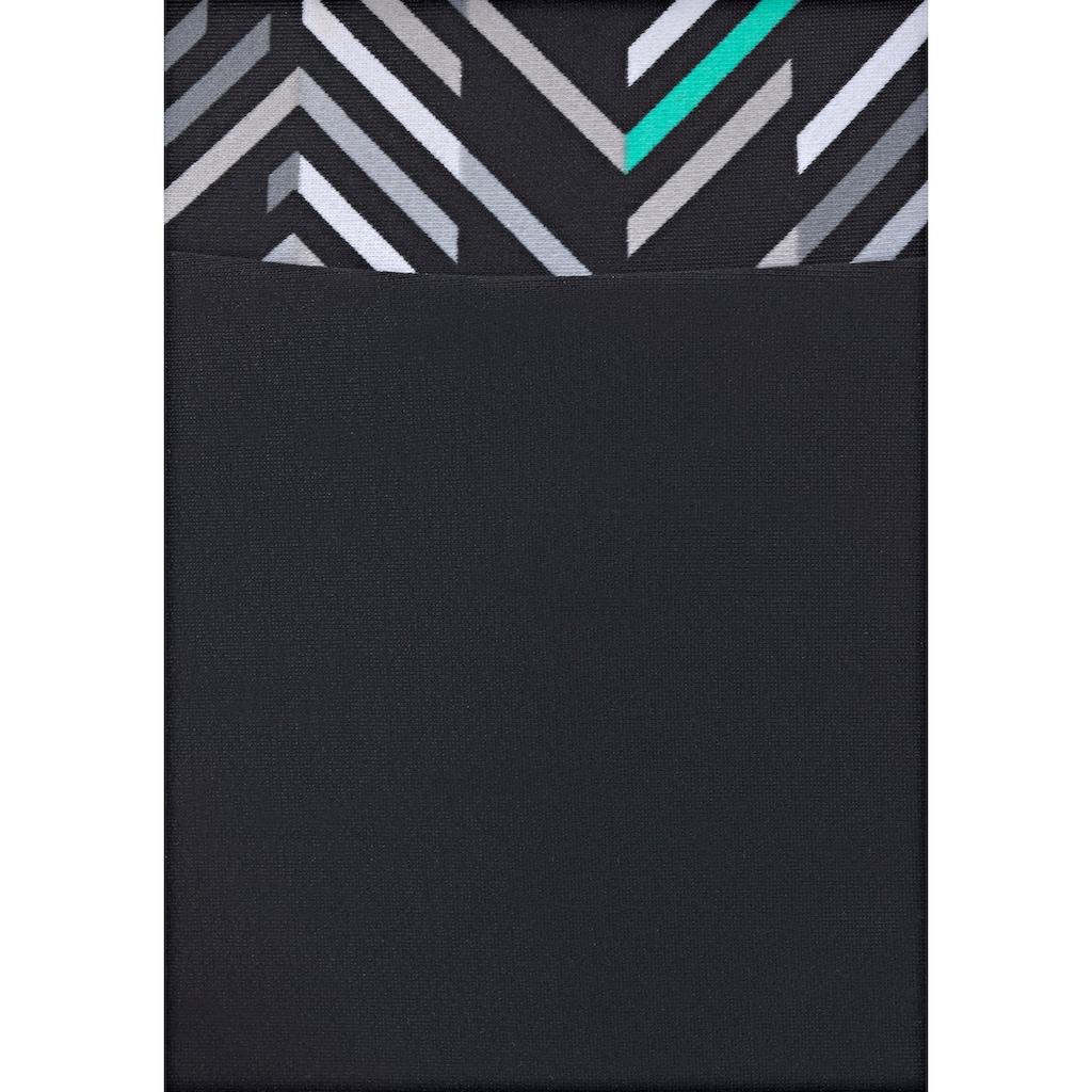LASCANA Bügel-Bikini, im grafischen Druckdesign