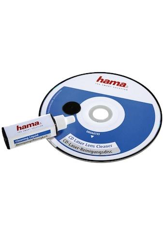 Hama CD-Laserreinigungsdisc + Reinigungsflüssigkeit kaufen