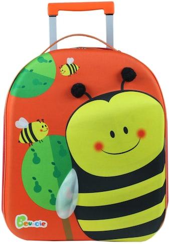 CHIC2000 Kinderkoffer »Bouncie, Bienchen«, 2 Rollen, Weichgepäck-Trolley kaufen