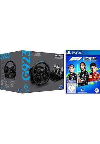 Logitech G Gaming-Lenkrad »G923 für PS4 und PC«, inkl. F1 2021 kaufen