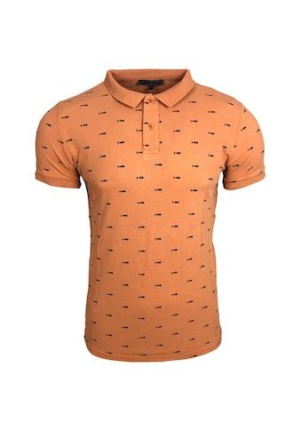 Rusty Neal Poloshirt mit coolem Print kaufen