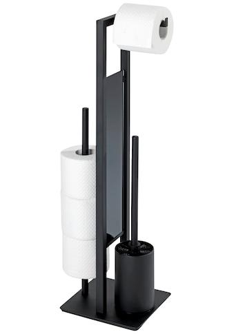 WENKO WC - Garnitur »Rivalta«, integrierter Toilettenpapierhalter und WC - Bürstenhalter kaufen