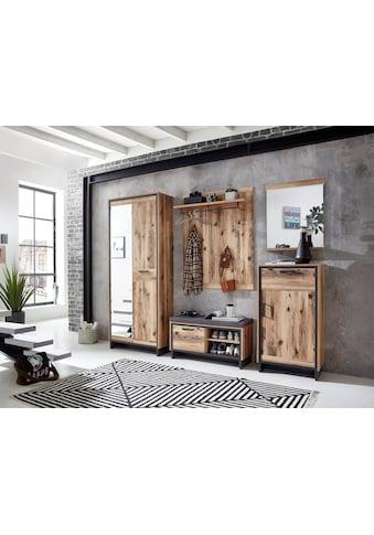 Innostyle Garderobenpaneel »Prato«, inklusive Reilingsystem und Haken in Metall, graphit matt kaufen