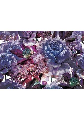 Consalnet Vliestapete »Violettes Blumen Muster«, floral kaufen
