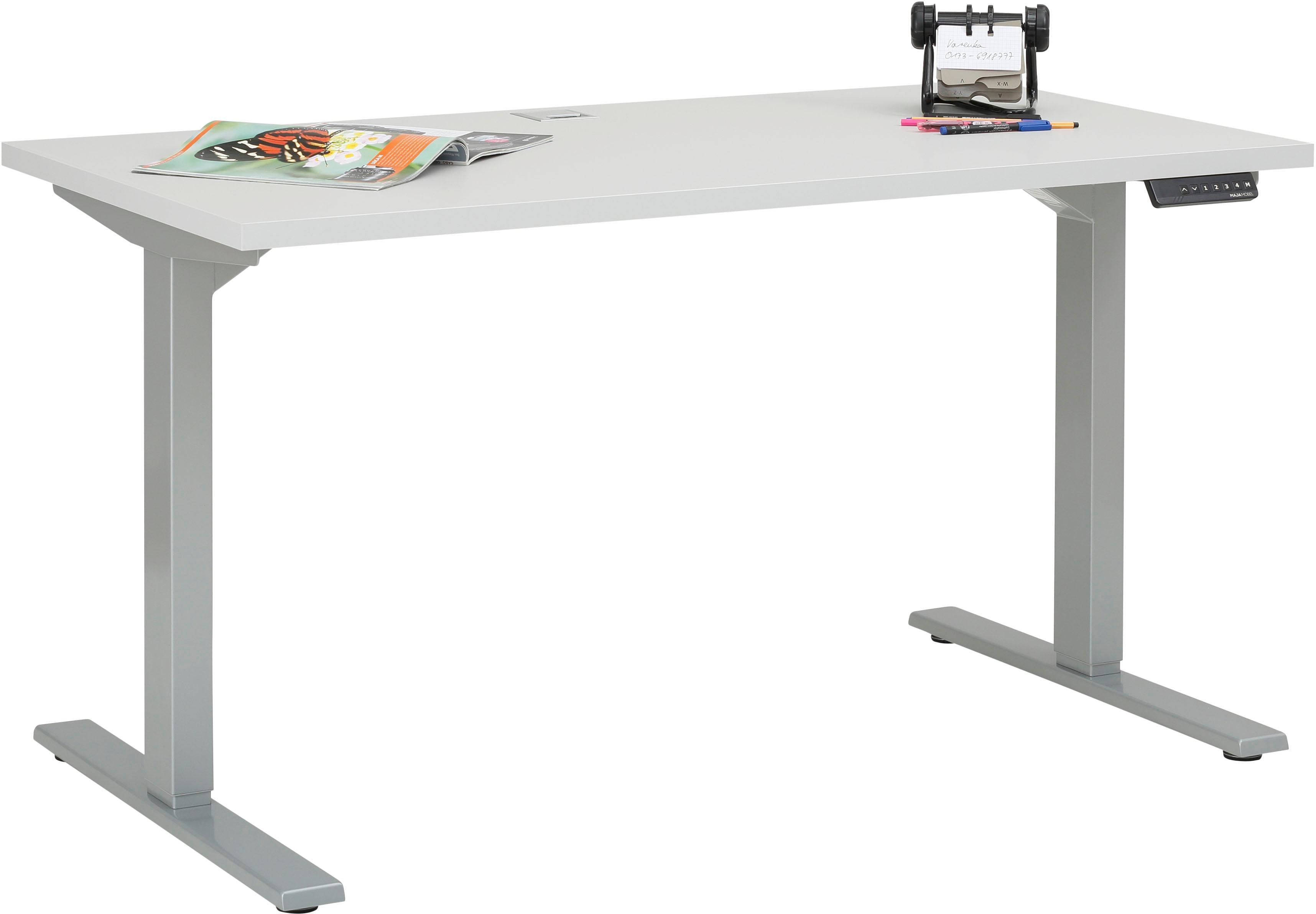 Maja Möbel Schreibtisch 5502 eDJUST höhenverstellbarer