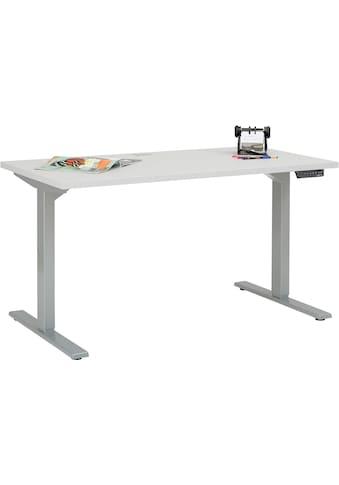 Maja Möbel Schreibtisch »5502 eDJUST«, höhenverstellbarer kaufen