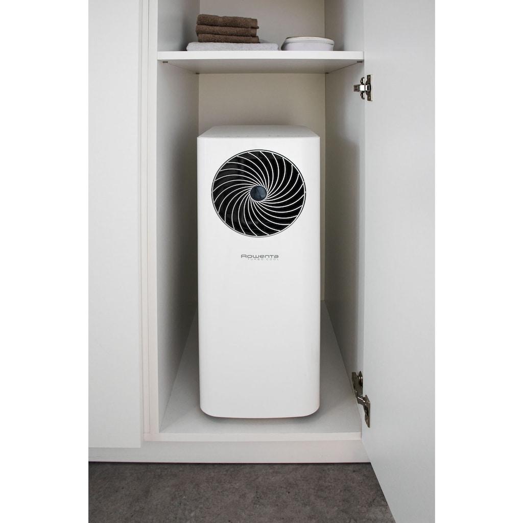 Rowenta 3-in-1-Klimagerät »Turbo Cool AU5010«, Mobile Klimaanlage, Ventilator, Luftentfeuchter in Einem; Schlauch & Fernbedienung inklusive; Eco-Modus