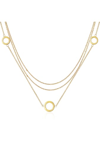 AILORIA Kette mit Anhänger »ANNABELLE Halskette Gold«, Hochglanz-Finish kaufen