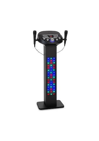 Auna Karaokeanlage BT 2xMikro Multicolor USB 40W »KaraBig LighUp« kaufen