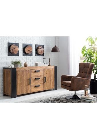 SIT Wandpaneel »Romanteaka«, recyceltes Altholz, Shabby Chic, Vintage kaufen