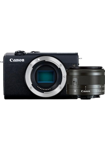 Canon »EOS M200 EF - M 15 - 45mm f3.5 - 6.3 IS STM Kit« Systemkamera (EF - M 15 - 45mm f/3.5 - 6.3 IS STM, 24,1 MP, Bluetooth WLAN (Wi - Fi)) kaufen