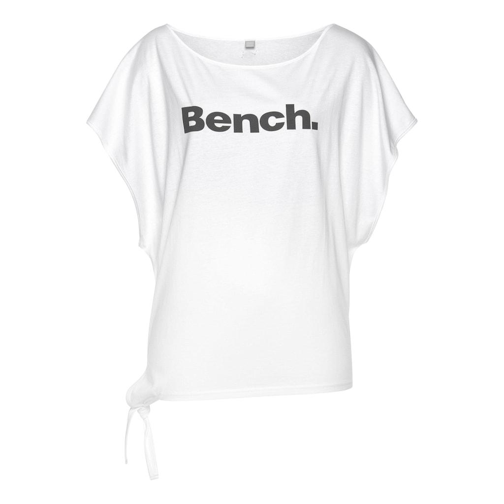 Bench. T-Shirt, mit Logodruck