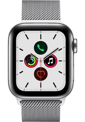 Watch Series 5 GPS + Cellular, Edelstahl, 40 mm mit Milanaisearmband, Apple kaufen
