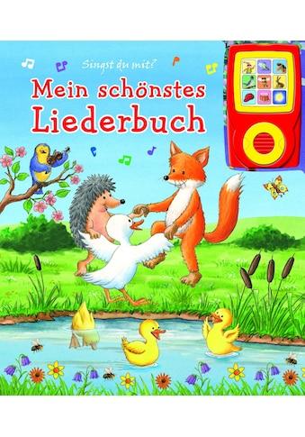 Buch »Mein schönstes Liederbuch - Pappbilderbuch und abnehmbarer Musikspieler - Liederbuch mit 15 beliebten Kinderliedern / Phoenix International Publications Germany GmbH« kaufen