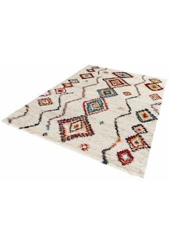 Hochflor - Teppich, »Geometric«, MINT RUGS, rechteckig, Höhe 30 mm, maschinell gewebt kaufen