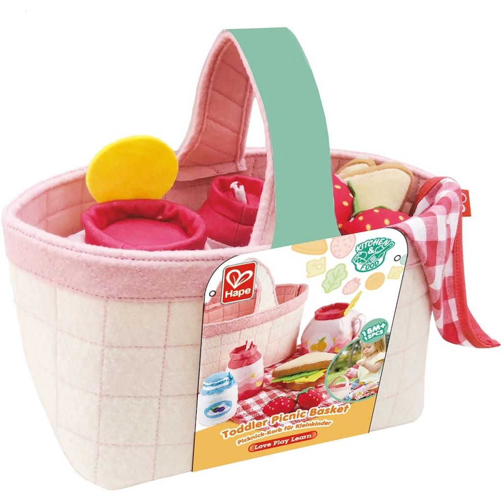 Hape Spiellebensmittel »Picknick-Korb«, mit Picknickzubehör