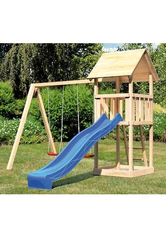 ABUKI Spielturm »Rosie C«, BxT: 382x183 cm, mit Doppelschaukel, Rutsche kaufen