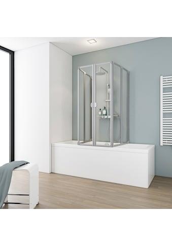 Schulte Badewannenaufsatz »6-tlg.«, nach Gebrauch flach an die Wand klappbar kaufen
