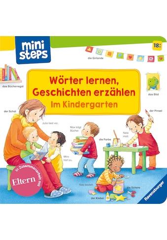 Buch »Wörter lernen, Geschichten erzählen: Im Kindergarten / Sandra Grimm, Katja Senner« kaufen