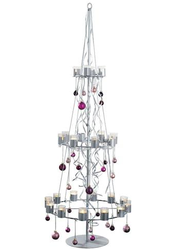 Teelichthalter »Tannenbaum«, aus Metall, Höhe ca. 170 cm kaufen