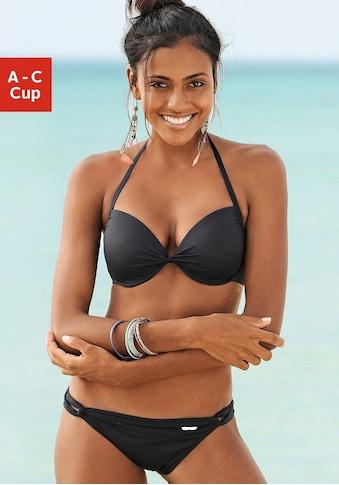 Sunseeker Push-Up-Bikini »Miami«, in geknoteter Optik kaufen