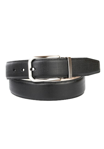 Anthoni Crown Ledergürtel, mit hochwertiger silberfarbener Schließe kaufen