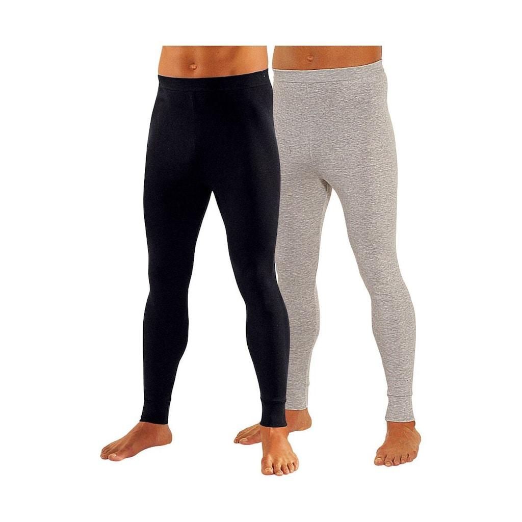 Clipper Lange Unterhose, (2 St.), aus weichem Single Jersey