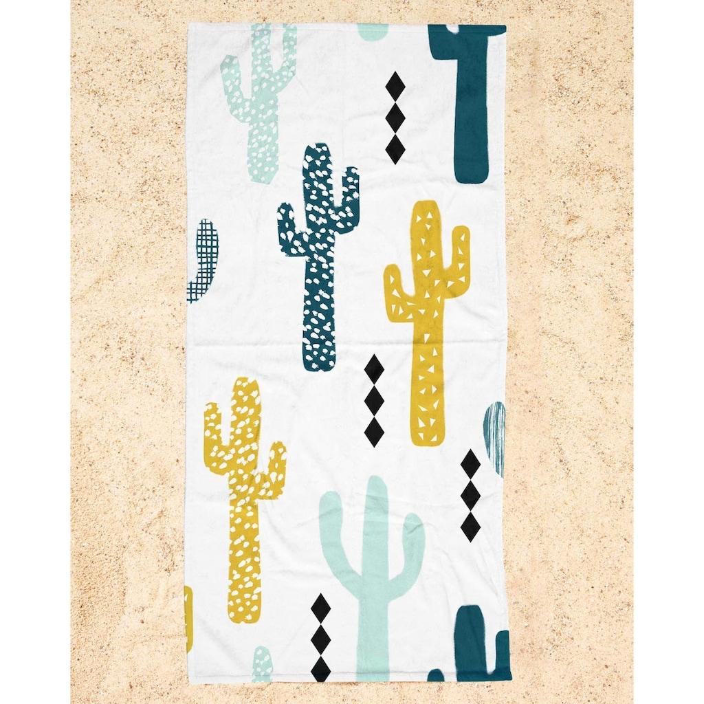 "Strandtuch ""Cactus Mustard"", Juniqe"