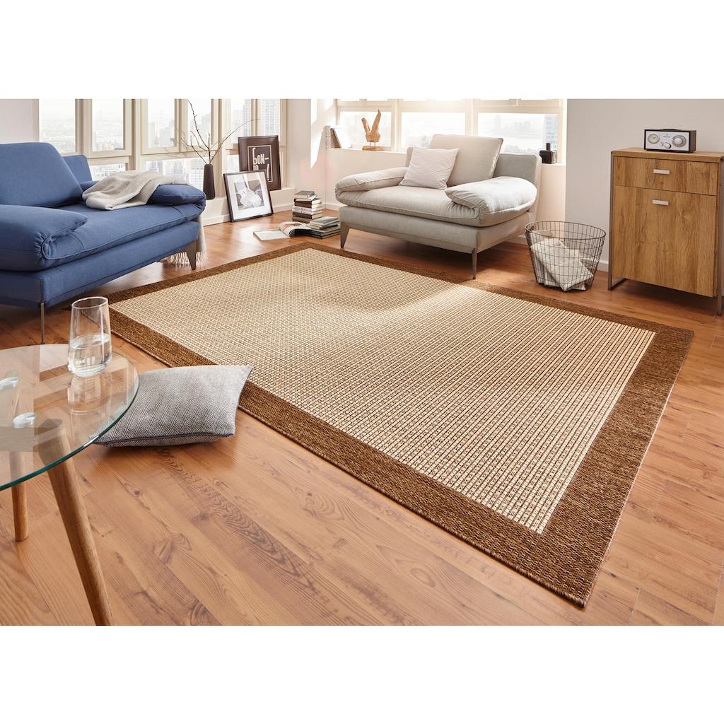 HANSE Home Teppich »Simple«, rechteckig, 8 mm Höhe, Flachgewebe, Sisal Optik, Wohnzimmer