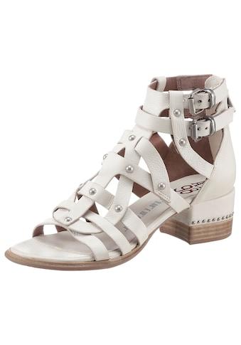 A.S.98 Sandalette »MORAINE«, mit vielen Nieten besetzt kaufen