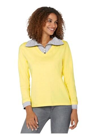 Casual Looks 2-in-1-Langarmshirt kaufen