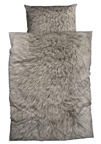 Flanell - Bettwäsche, Casatex, »Animal Fur« (2tlg.) kaufen