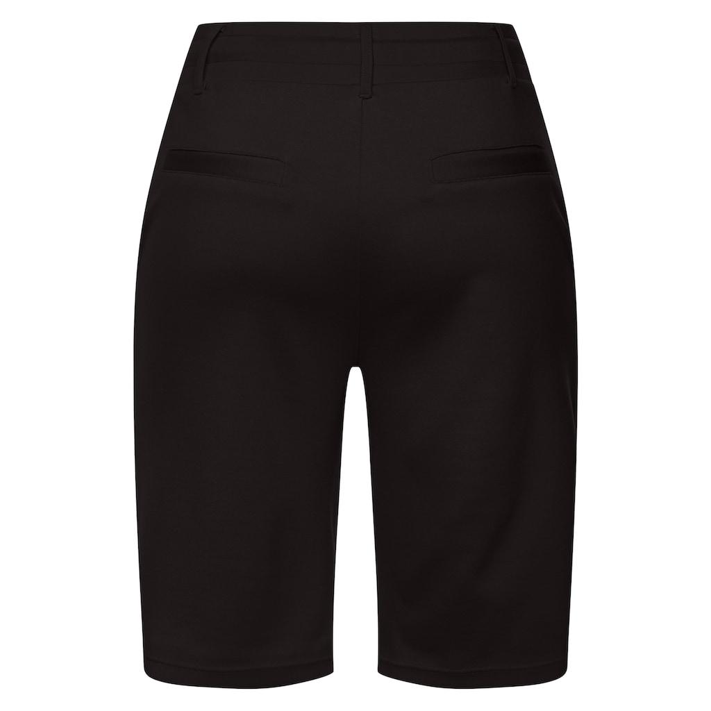 LASCANA Shorts, mit Gürtelschlaufen und Bindeband