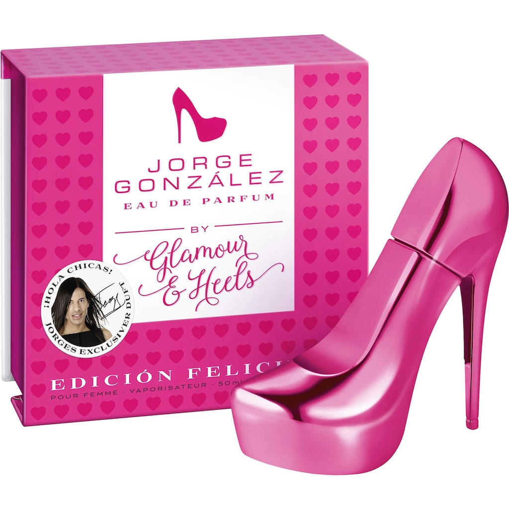 Glamour & Heels Eau de Parfum »Jorge González Edicion Felicidad«