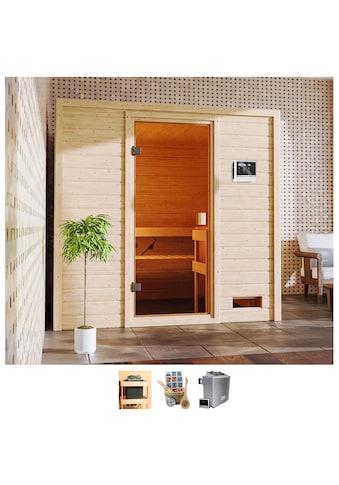 Karibu Sauna »Ricky«, 4,5-kW-Ofen mit ext. Steuerung kaufen