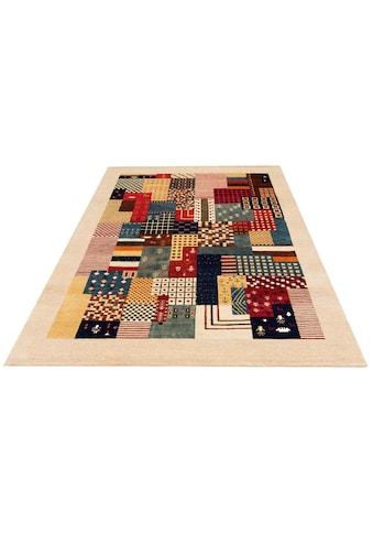 Wollteppich, »Naina«, DELAVITA, rechteckig, Höhe 16 mm, manuell geknüpft kaufen