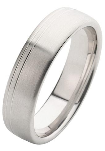 Firetti Trauring mit Gravur »6,0 mm, längs gebürstet, Diamantschnitt« kaufen
