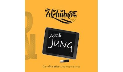 Musik-CD »Alt & Jung / Ambros,Wolfgang« kaufen
