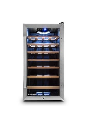 Klarstein Weinkühlschrank Weinklimaschrank Getränkekühlschrank 88L »HEA3 Vivo Vino 26« kaufen