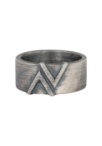 CAÏ Silberring »925/- Sterling Silber matt oxidiert Dreieck« kaufen