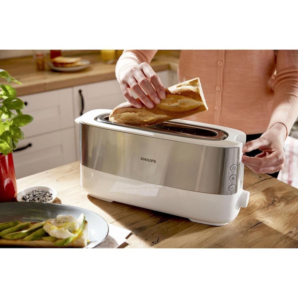 Philips Toaster »HD2692/00«, 1 langer Schlitz, für 2 Scheiben, 950 W