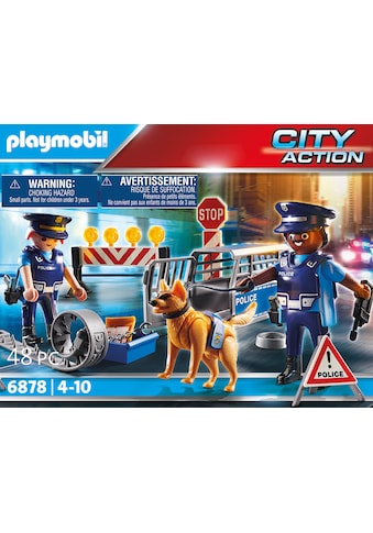 Playmobil® Konstruktions-Spielset »Polizei-Straßensperre (6878), City Action«, Made in... kaufen