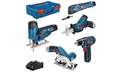 Bosch Professional Elektrowerkzeug-Set, (Kombi-Set), 11-tlg., bestehend aus:... kaufen