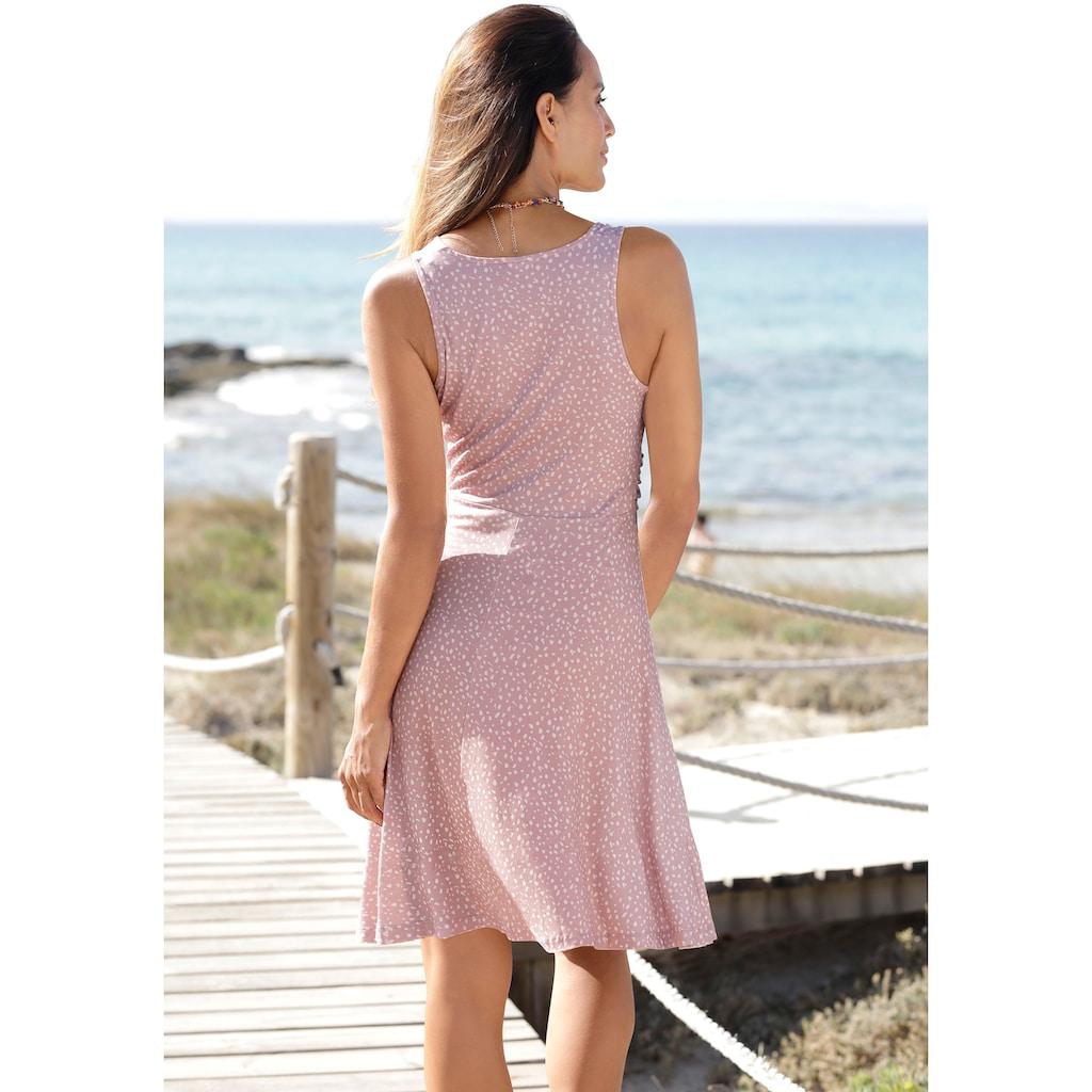 Vivance Jerseykleid, mit Alloverdruck