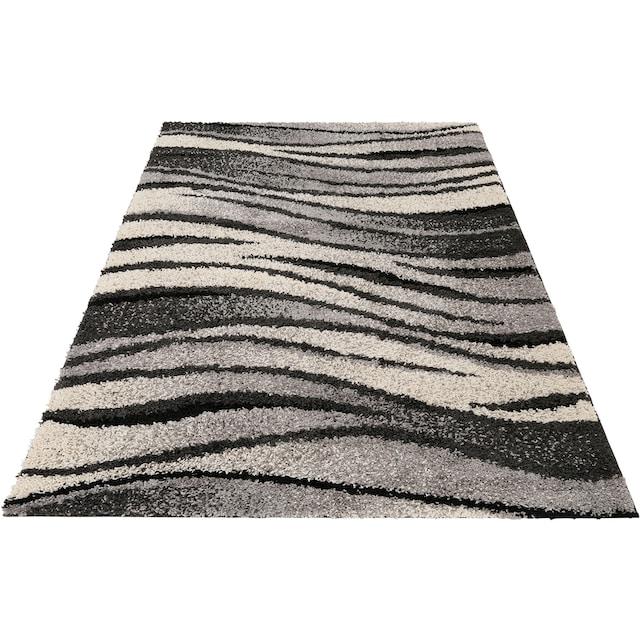 my home Hochflor-Teppich »Jamie«, rechteckig, 30 mm Höhe, weiche Haptik, Wohnzimmer