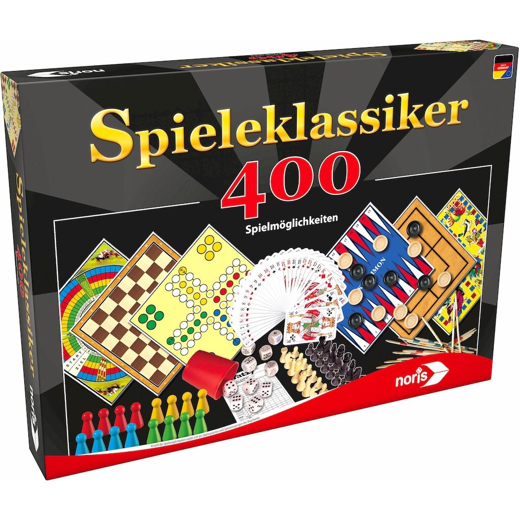 Noris Spielesammlung »Spieleklassiker - 400 Spielmöglichkeiten«, Made in Germany
